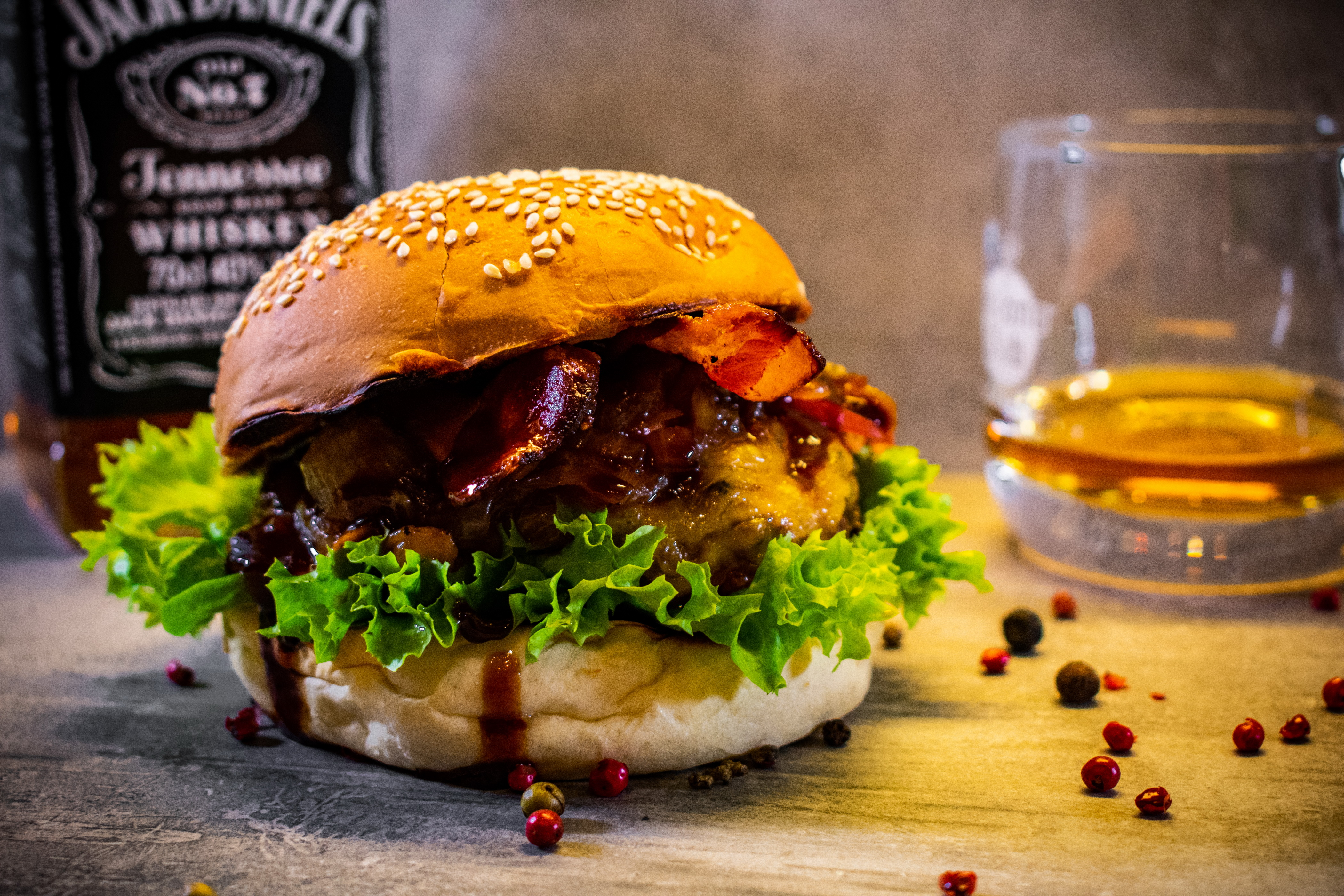 Whisky-Burger Deluxe