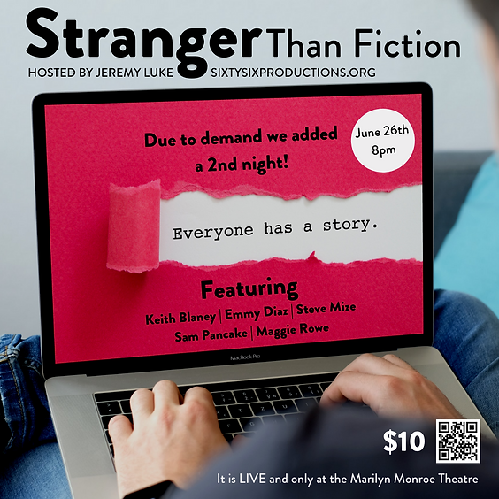 Stranger Than Fiction - Night 2