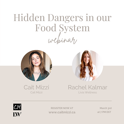 The Hidden Dangers in our Food System