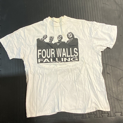 FOUR WALLS FALLING- WHITE