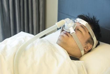 CPAP no quarto