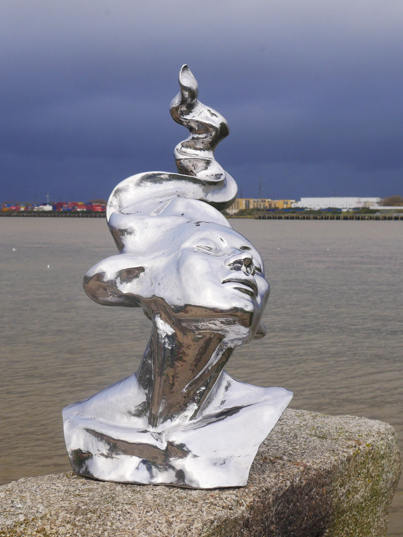 # stainless steel sculpture