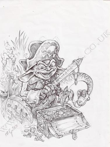 Book illustration by Marcin Gornia