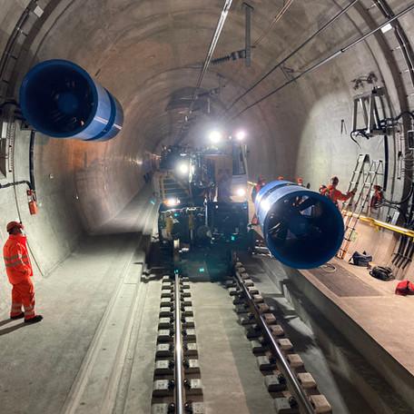 Fertigstellung Ceneribasistunnel