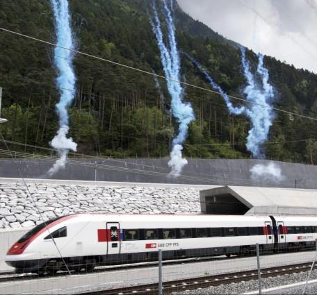 Inbetriebsetzung Gotthardbasistunnel