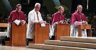 Une division entre les quatre évêques