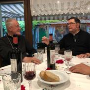 Mgr Faure et l'abbé Épiney