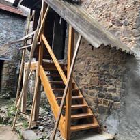 Escalier installé le lundi 10 mai 2021