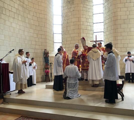 Ordinations diaconale et sacerdotale - Avrillé 26 juin 2020