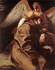 Orazio_Gentileschi_-_St_Francis_Supporte