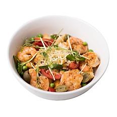 Паста -салат с креветками