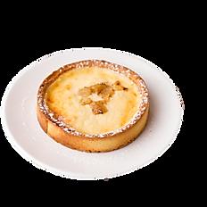 Яблочный тарт с творогом