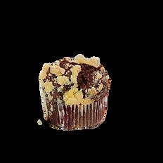 Шоколадный маффин с вишней