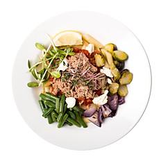 Паста-салат с тунцом