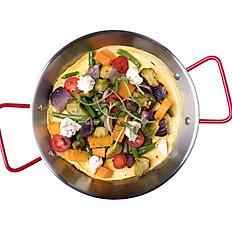 Омлет с запечёнными овощами