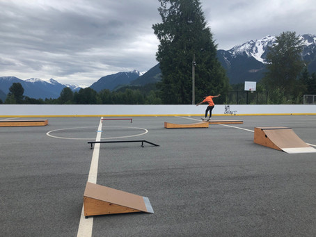 $10,000 and new permanent location for New site skatepark