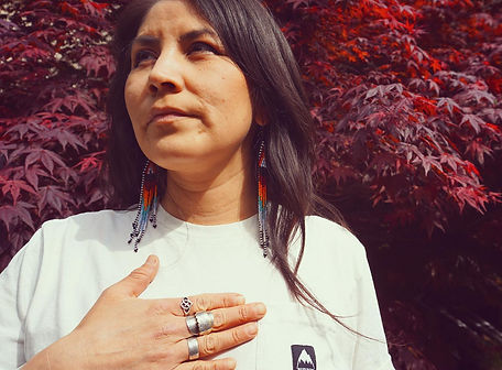 Chelsie McCutcheon, Wet'suwet'en Nation, Squamish Nation Mountain Bike Manager