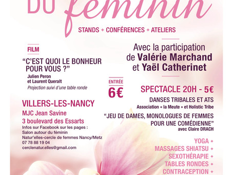 Le Salon Autour du Féminin, 1re édition à Nancy
