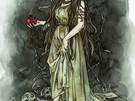 Pleine lune et Perséphone