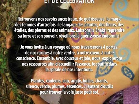 Le Féminin Guérisseur,journées d'initiation, de découverte et de célébration