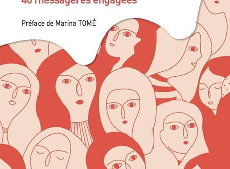 Les voix du Féminin 40 messagères engagées, le livre