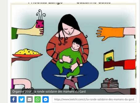 #cagnotte solidaire : la ronde solidaire des mamans du Gard !