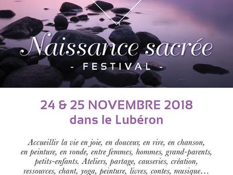 NAISSANCE SACRÉE, FESTIVAL, 3 ième édition
