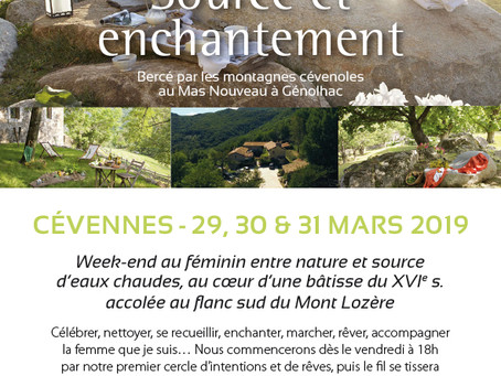 Week-end Féminin source et enchantement