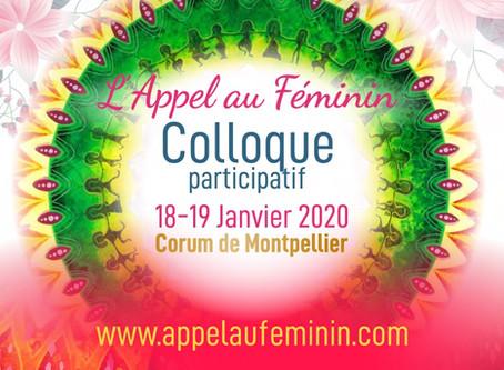 L'Appel au féminin, Colloque participatif, Corum de Montpellier