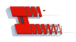 Дилерский центр Ferrari. Пятый фасад
