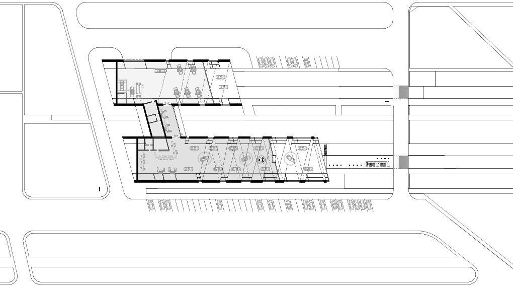 Дилерский центр Ferrari. План