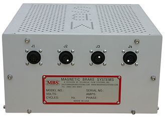 Magnetic Brake Systems (MBS) CTPS Control panel - BACK