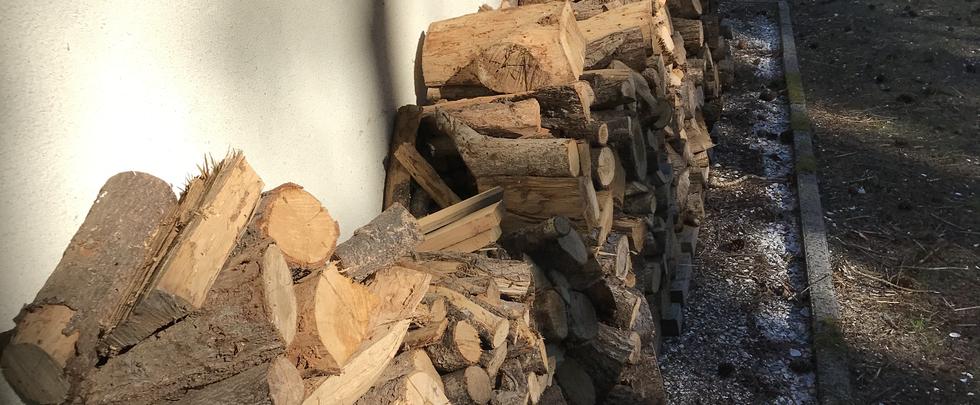 Voorraad hout