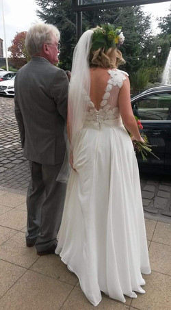 Hayley Hare Bridal couture bespoke wedding dress Manchester