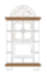 Estufas de leña Palladio
