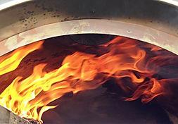 Horno moruno de leña metalico Clementi para pizza