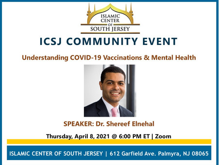 Community Event: Understanding COVID-19 Vaccinations & Mental Health