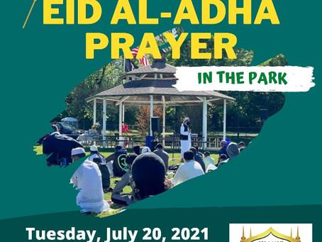 Eid Al-Adha Prayer | Connolly Park, Voorhees