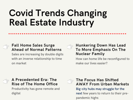 How Have Covid Trends Changed The Housing Market