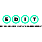 EDIT: Expo for Design, Innovation and Technology logo