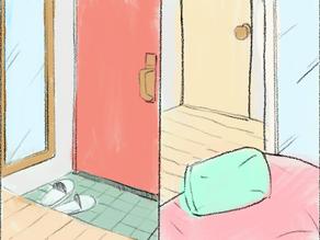 居家風水迷思:玄關與臥房的鏡子