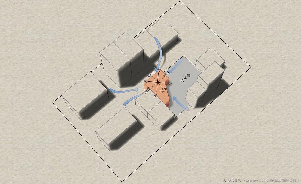 阿宏控肉店 - 風水3D示意圖3