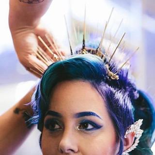 makeup, hair by @peterpanboy