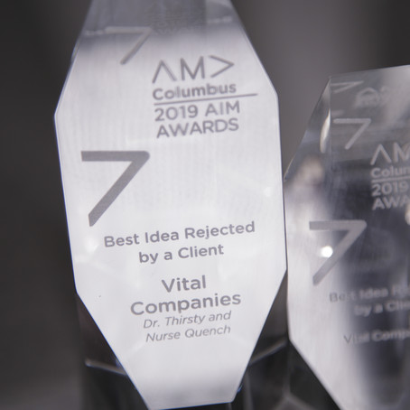 We're Winners! (AIM Awards)