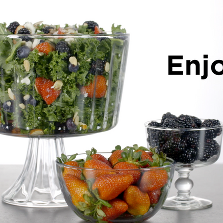 How to Make Berry Kale Salad (Recipe Video)