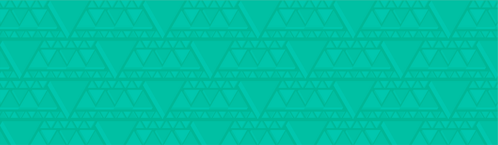 Vital Compaines Branded Green Triangle Pattern Background