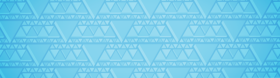 Vital Companies triangle branded pattern background in light blue