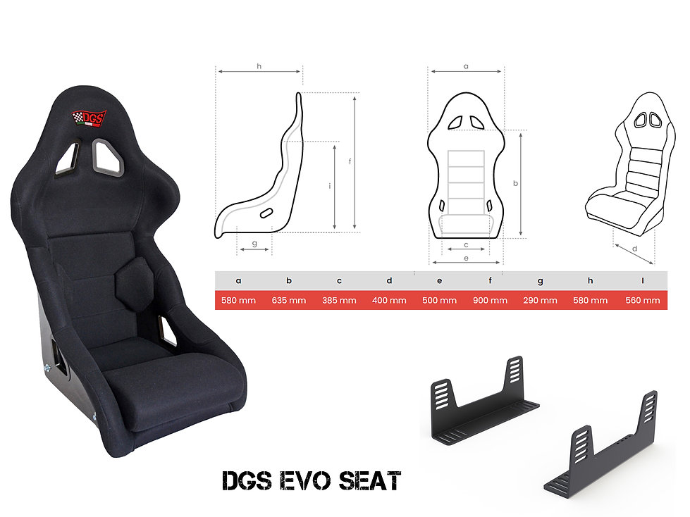DGS EVO SEAT dimension