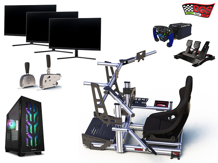 DGS RIG-Racing Simulator 3