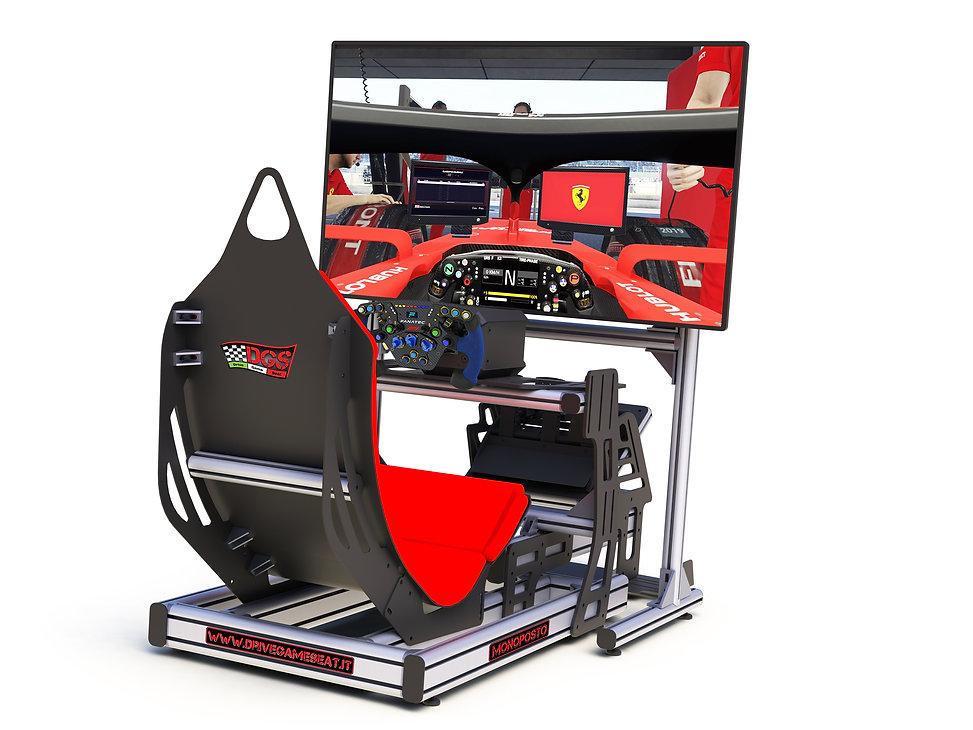 F1 simulator, simulatore F1